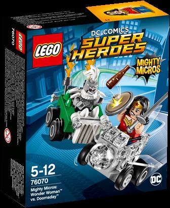 LEGO DC Comics Super Heroes Mighty Micros: Wonder Woman™ vs. Doomsday™ - 76070
