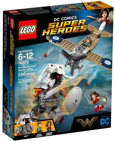 LEGO Super Heroes 76075 Wonder Woman™ Warrior Battle