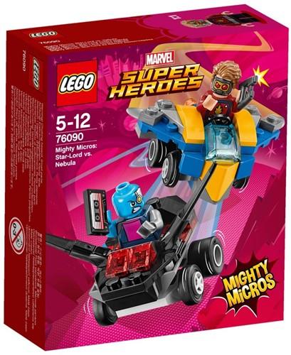 LEGO Super Heroes Mighty Micros: Star-Lord vs. Nebula - 76090