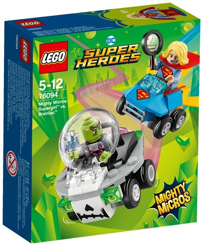 LEGO DC Comics Super Heroes Mighty Micros: Supergirl™ vs. Brainiac™ - 76094