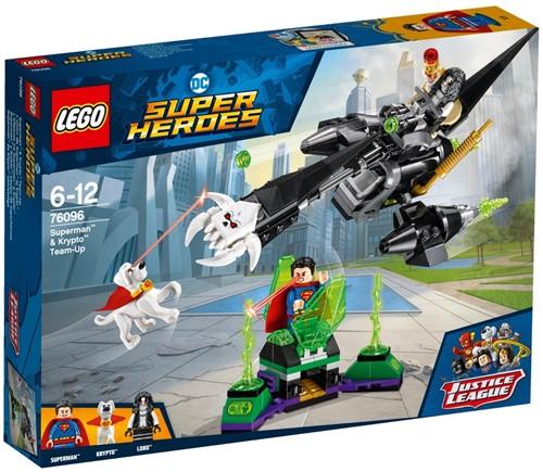 LEGO DC Comics Super Heroes Superman™ en Krypto™ werken samen - 76096