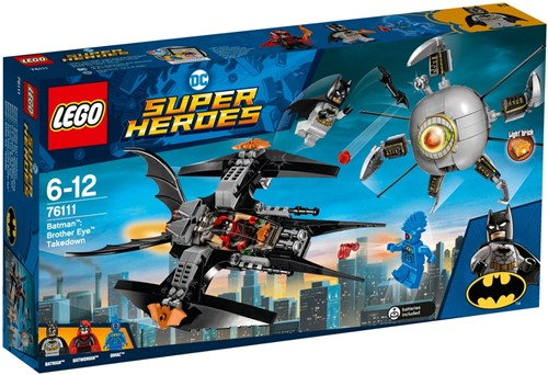 LEGO Super Heroes 76111 Batman™ verslaat Brother Eye™