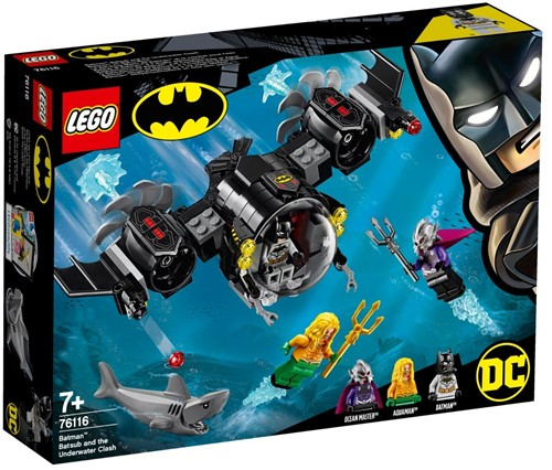 LEGO DC Batman™ Batduikboot en het onderwatergevecht - 76116