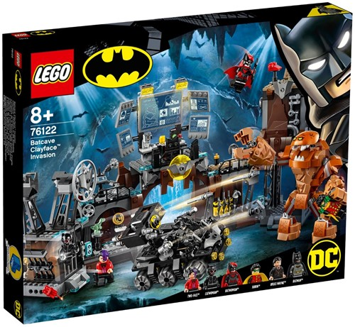 LEGO DC Comics Super Heroes Batcave invasie Clayface™ - 76122