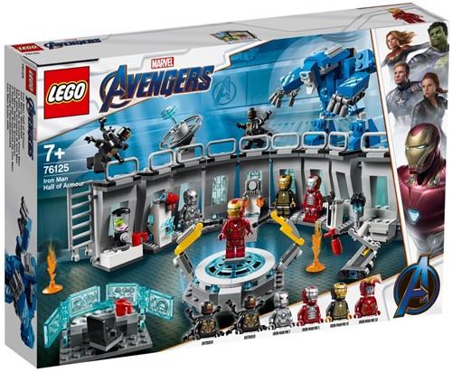 LEGO Marvel Avengers Iron Man Hall of Armor - 76125