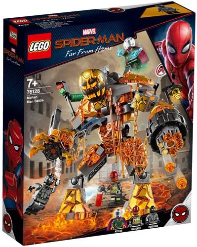 LEGO Marvel Spider-Man Molten Man duel - 76128