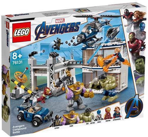 LEGO Super Heroes Strijd bij de basis van de Avengers - 76131