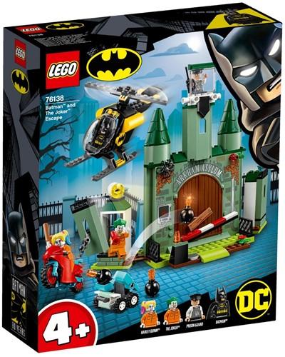 LEGO Super Heroes 76138 Batman™ en de ontsnapping van The Joker™
