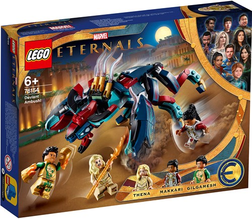 LEGO Marvel The Eternals Sluwe hinderlaag! - 76154