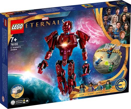 LEGO Marvel The Eternals In de schaduw van Arishem - 76155
