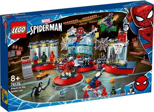 LEGO Marvel Spider-Man: Aanval op de Spider schuilplaats - 76175