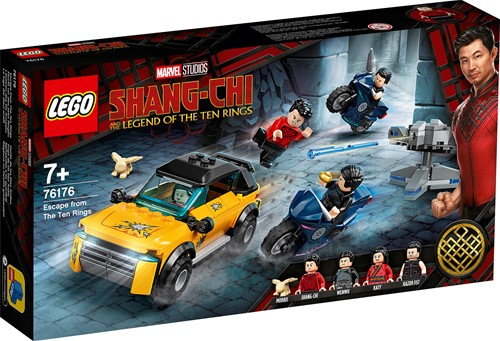 LEGO Marvel Shang-Chi Ontsnappen uit De Tien Ringen - 76176