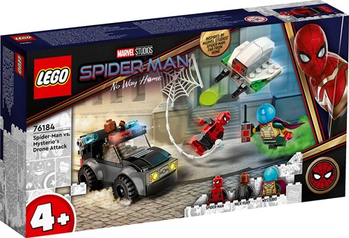 LEGO Marvel Spider-Man: Spider-Man vs. Mysterio droneaanval - 76184