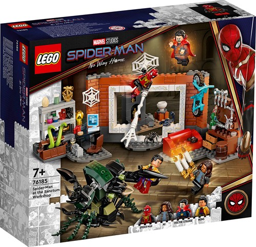 LEGO Marvel Spider-Man: Spider-Man bij de Sanctum uitvalsbasis - 76185