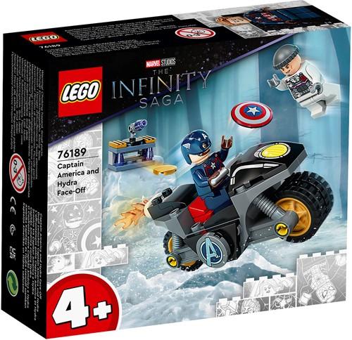 LEGO Marvel Avengers Captain America - Hydra confrontatie - 76189