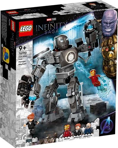 LEGO Marvel Avengers Iron Man: Iron Monger Mayhem - 76190