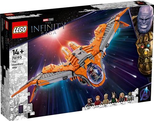 LEGO Marvel Avengers Het schip van de Guardians - 76193