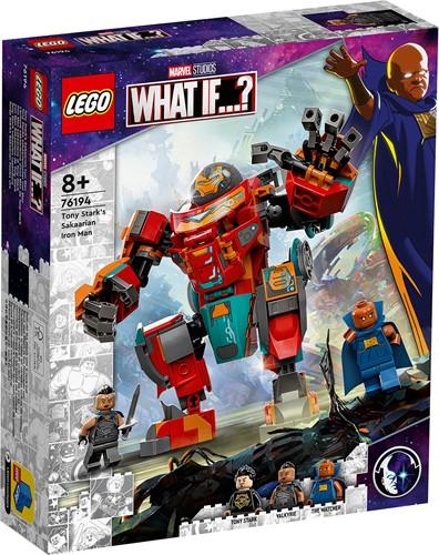 LEGO Marvel Tony Stark's Sakaarian Iron Man - 76194