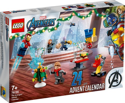 LEGO Marvel The Avengers Adventskalender 2021 - 76196