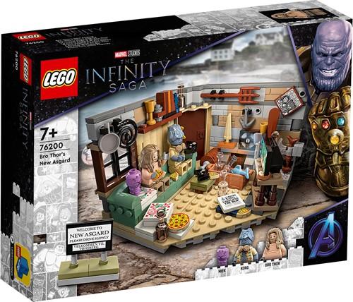 LEGO Marvel Avengers Bro Thor's New Asgard - 76200