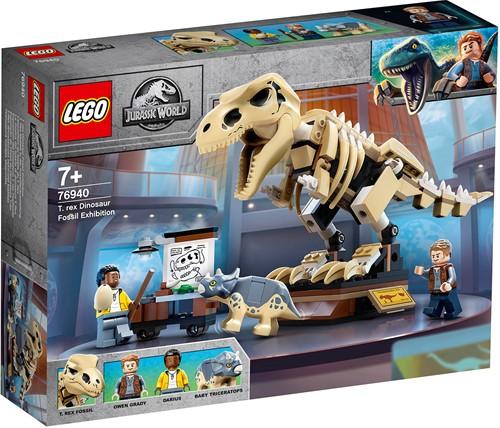 LEGO Jurassic World™ Tentoonstelling dinosaurusfossiel van T. rex - 76940