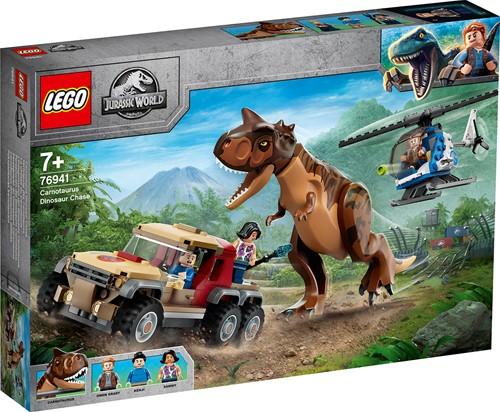 LEGO Jurassic World™ Achtervolging van dinosaurus Carnotaurus - 76941