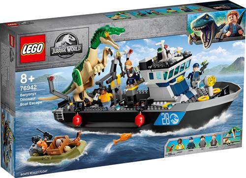 LEGO Jurassic World™ Bootontsnapping van dinosaurus Baryonyx - 76942