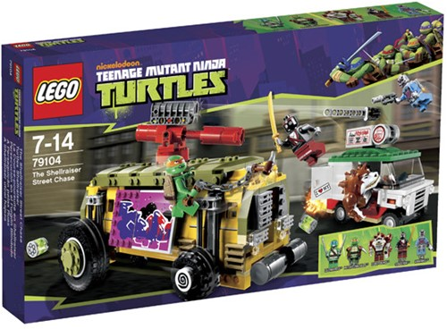 LEGO Ninja Turtles 79104 De Shellraiser straatrace