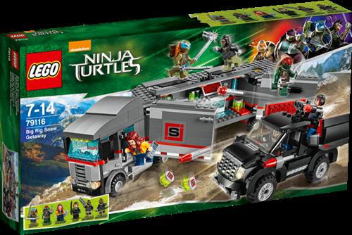 LEGO Ninja Turtles Big Rig Sneeuwontsnapping - 79116