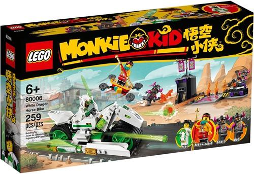 LEGO Monkie Kid™ Motor witte draak en paard - 80006
