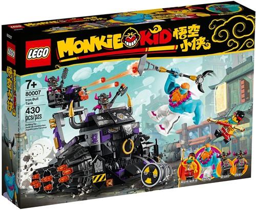 LEGO Monkie Kid™ IJzeren stier tank – 80007
