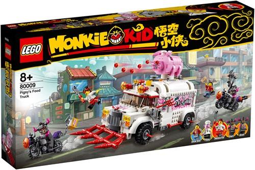 LEGO Monkie Kid™ 80009 Pigsy's foodtruck