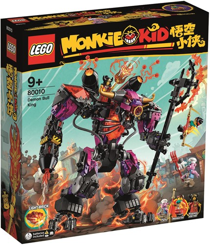 LEGO Monkie Kid™ 80010 Demon Bull King