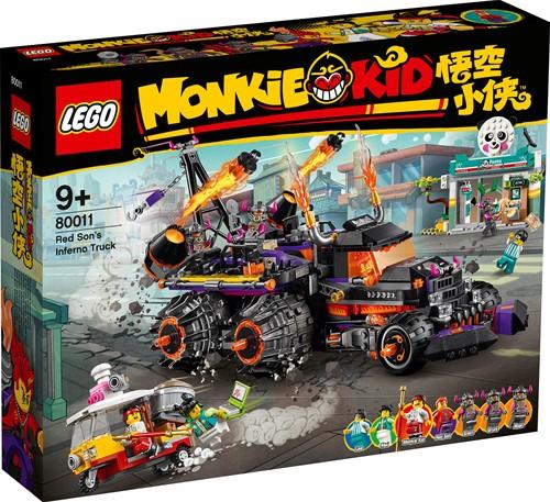 LEGO Monkie Kid™ 80011 Red Son's heltruck