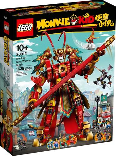 LEGO Monkie Kid™ 80012 Monkey King mechakrijger