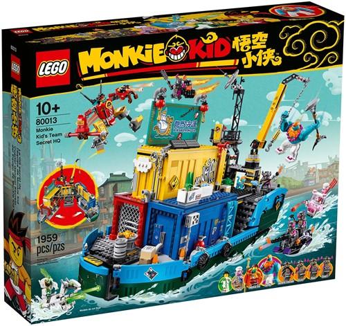 LEGO Monkie Kid™ Monkie Kid's geheime hoofdkwartier - 80013