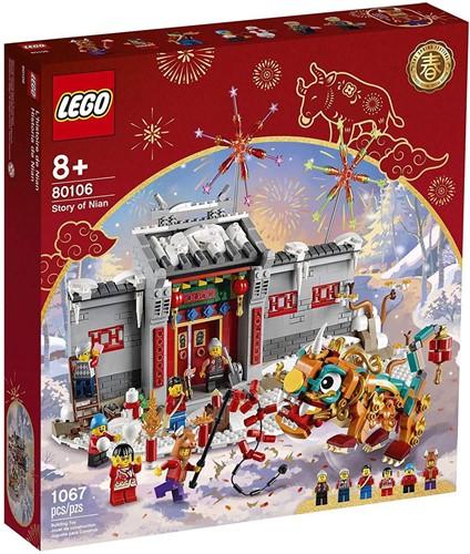 LEGO® Het verhaal van Nian - 80106