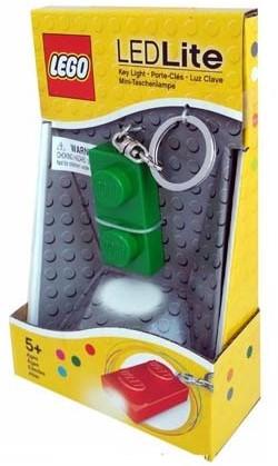 LEGO Classic 1x2 Brick Key Light Groen