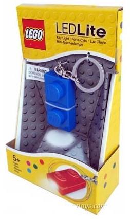 LEGO Classic 1x2 Brick Key Light Blauw