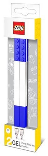 LEGO Classic Set van 2 blauwe gelpennen