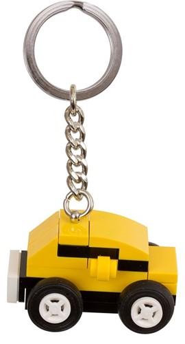 LEGO Classic Gele wagen van stenen Sleutelhanger - 853573