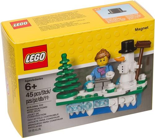 LEGO Magneet met Kersttafereel - 853663