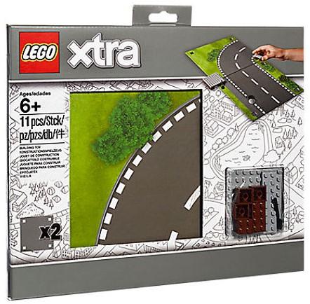 LEGO xtra Wegenspeelmat - 853840