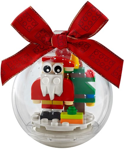 LEGO® Kerstversiering met kerstman - 854037