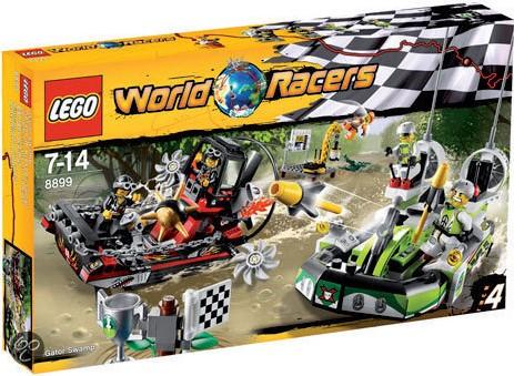 LEGO World Racers 8899 Krokodillenmoeras