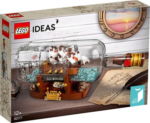 LEGO Ideas Schip in een fles - 92177