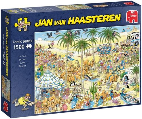 Jan van Haasteren De Oase - Puzzel 1500 stukjes