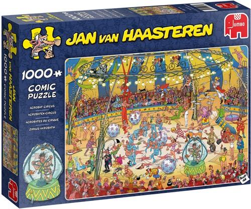 Jan van Haasteren Acrobaten Circus - Puzzel 1000 stukjes