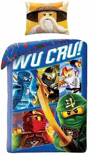 LEGO Dekbedovertrek NINJAGO® Wu Cru!