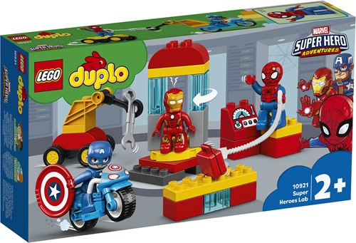 LEGO DUPLO Super Heroes Laboratorium van superhelden - 10921